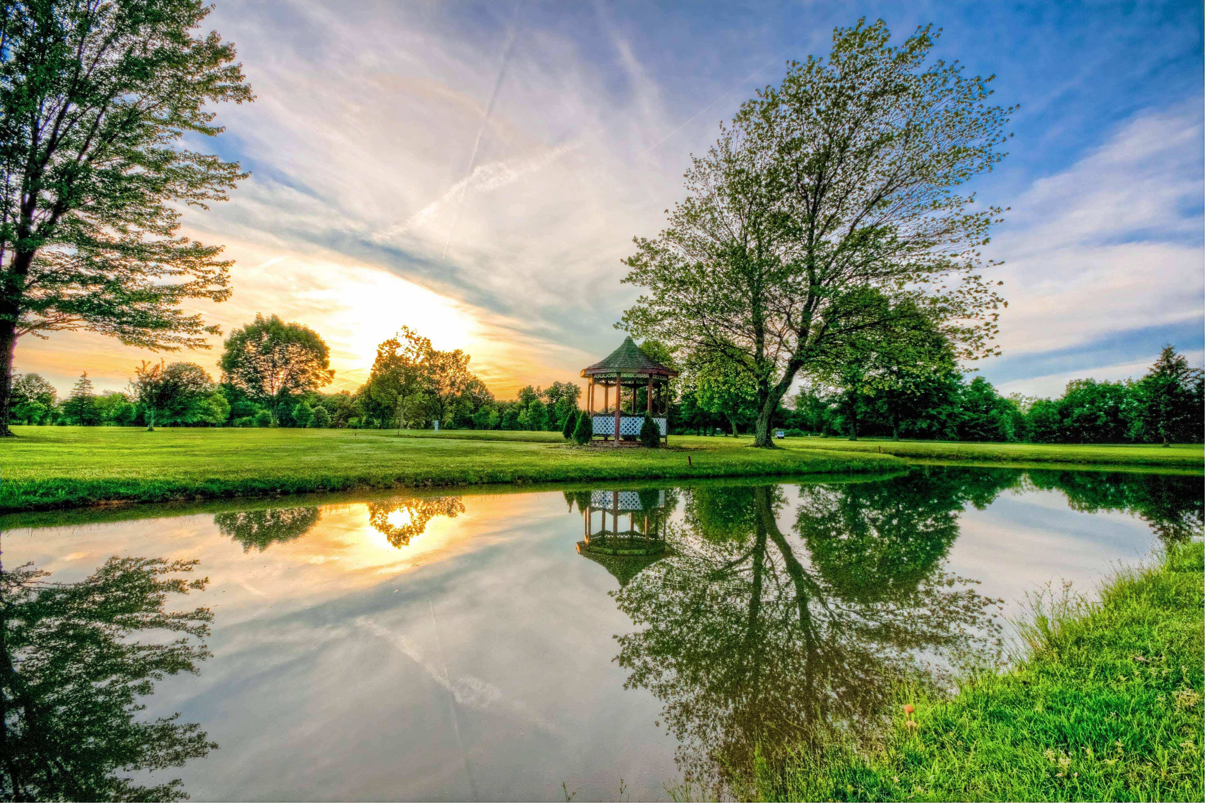 Bunker Hill Golf Sunset