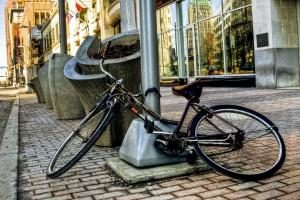 bike on Euclid Ave