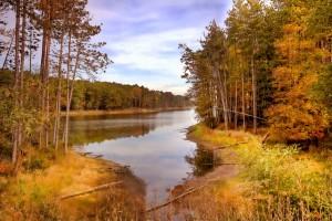 fall lake photo