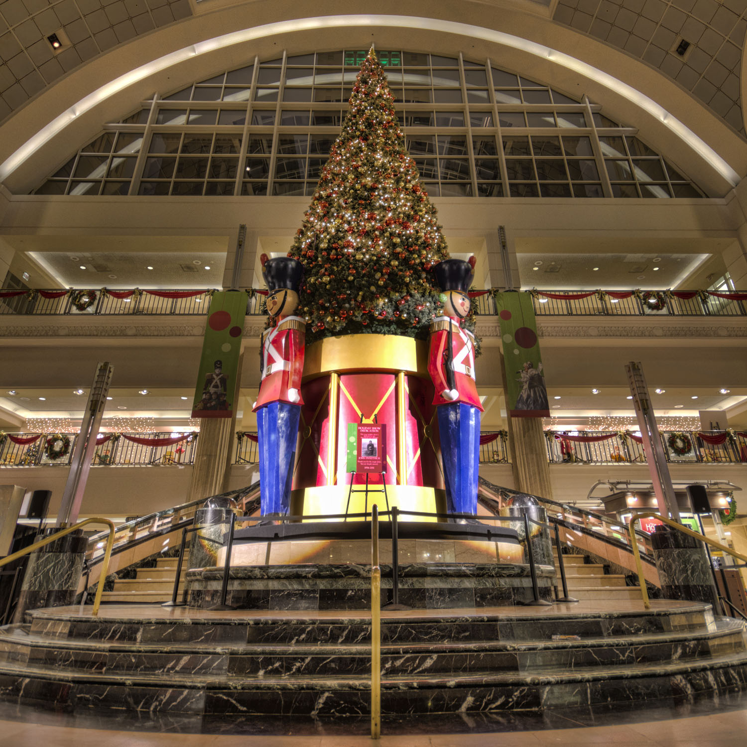 tower city tree