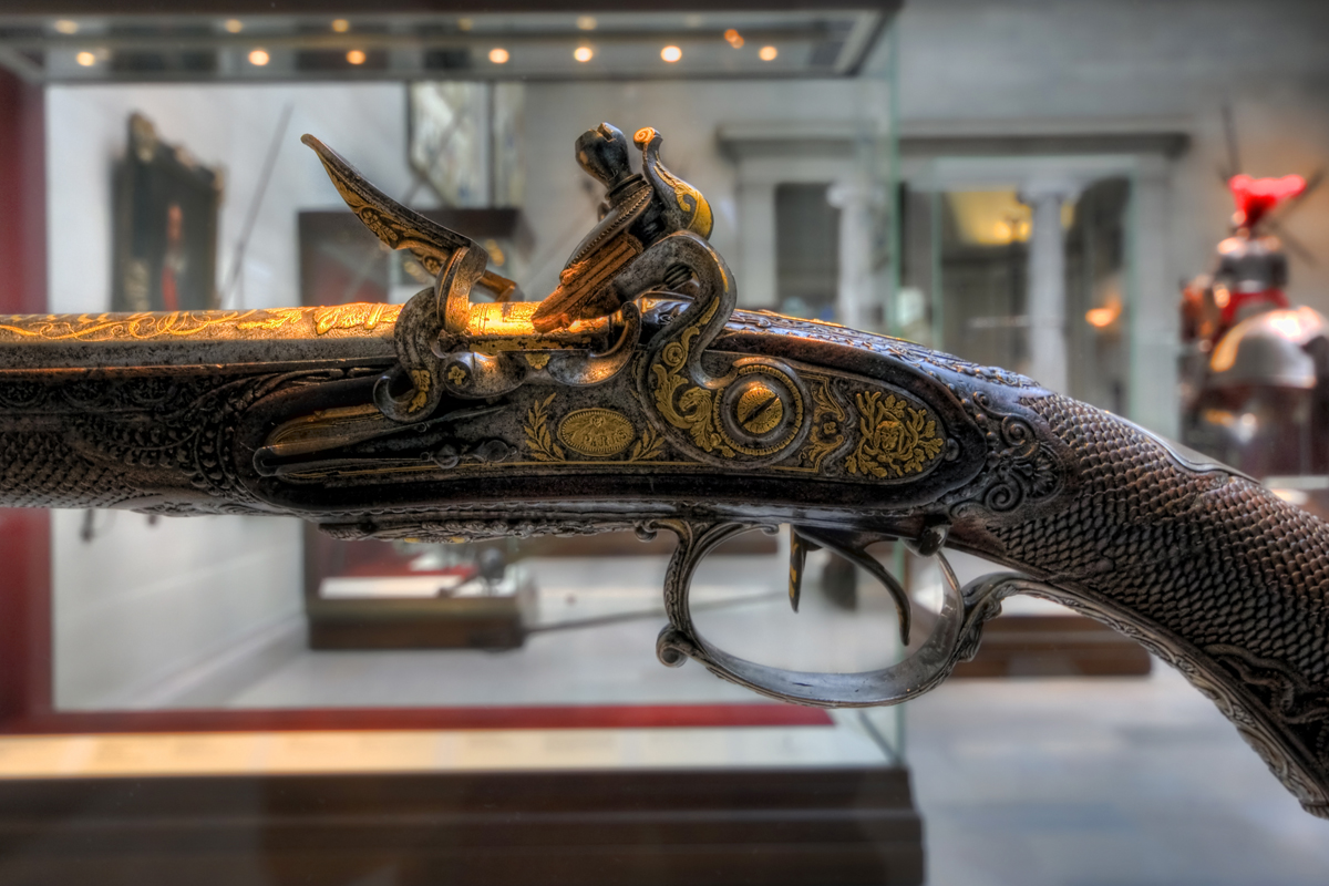 Flintlock Sporting Gun of Napoleon I Bonaparte