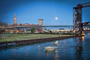 Boating on cuyahoga