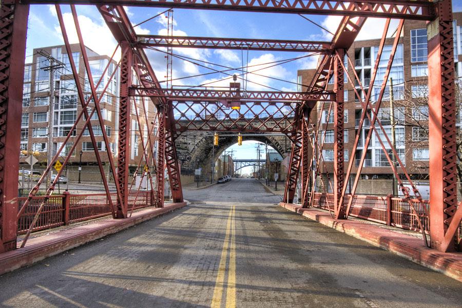 cleveland swing bridge