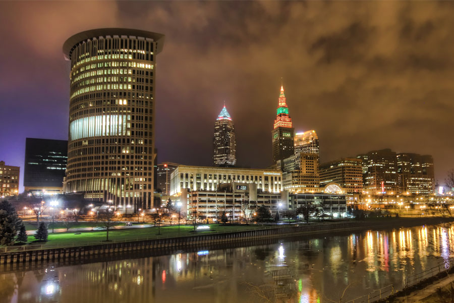 Best Cleveland Skyline on oscar host bob hope