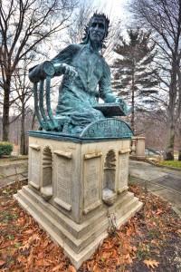Dante Statue in Cleveland