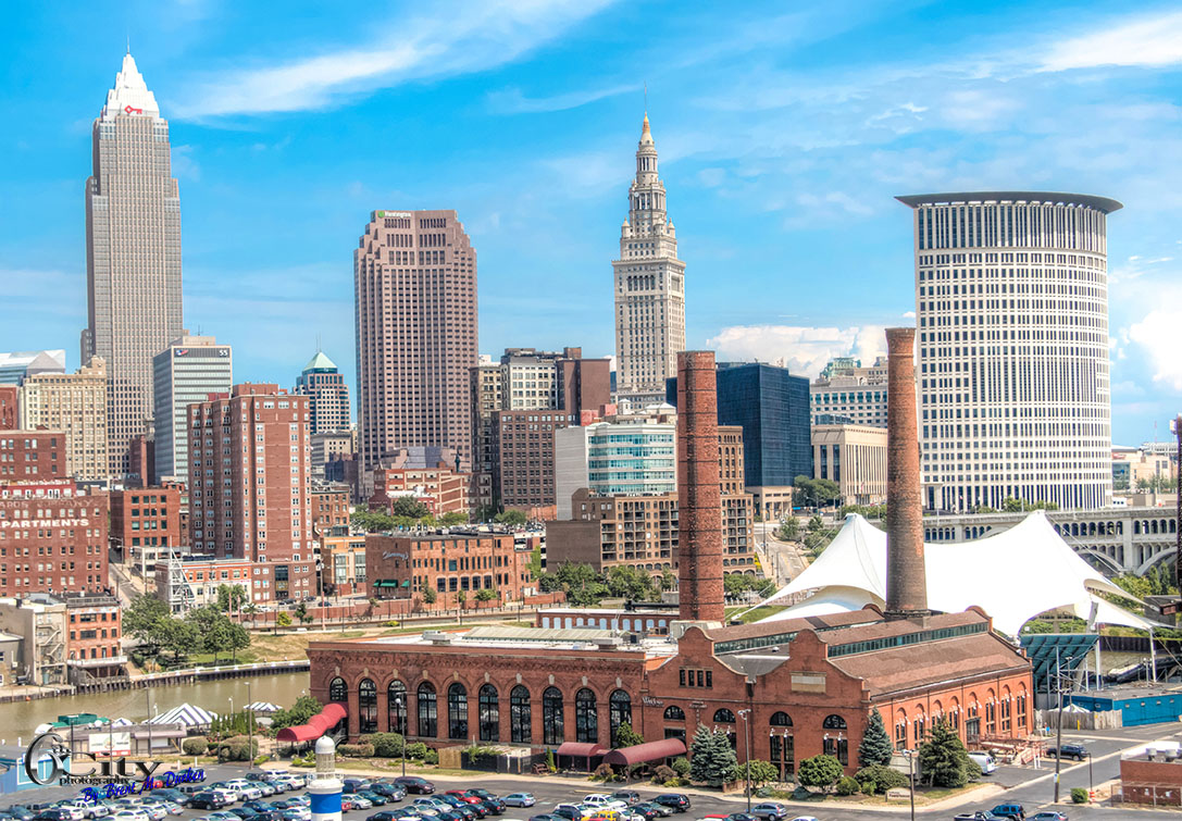 Powerhouse cleveland skyline